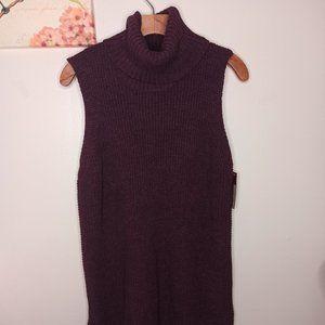 Merona Tank Sweater Knit Sleeveless Turtlenecks